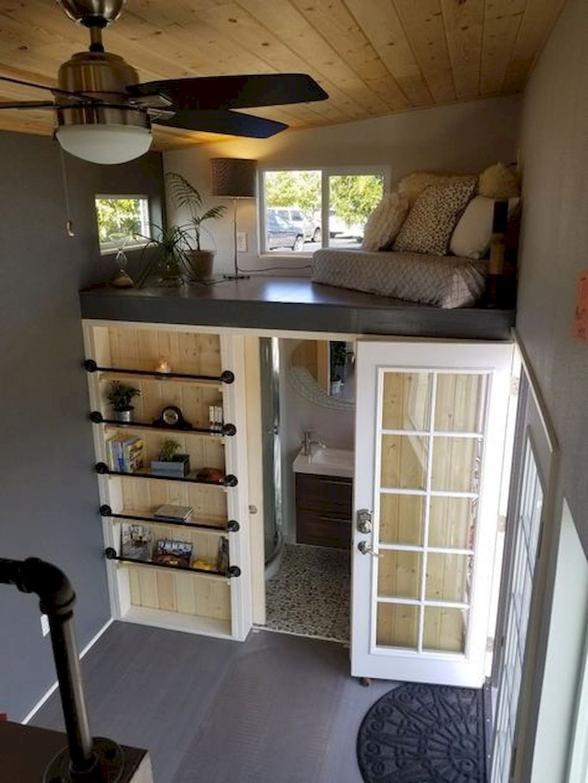 70 Clever Tiny House Interior Design