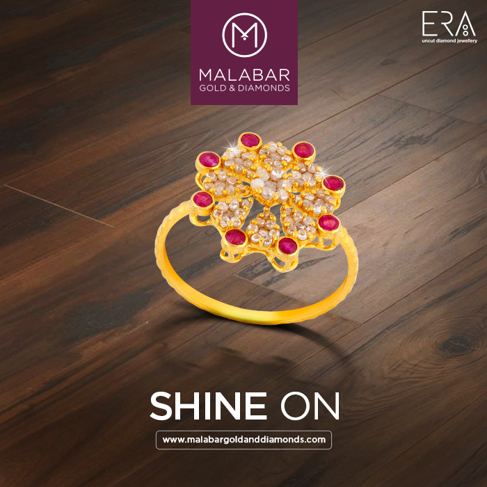 4a804a1e2 The luminous ERA brand is a collection of uncut diamond jewellery inspired  by the cultural heritage of India from Malabar Gold & Diamonds.