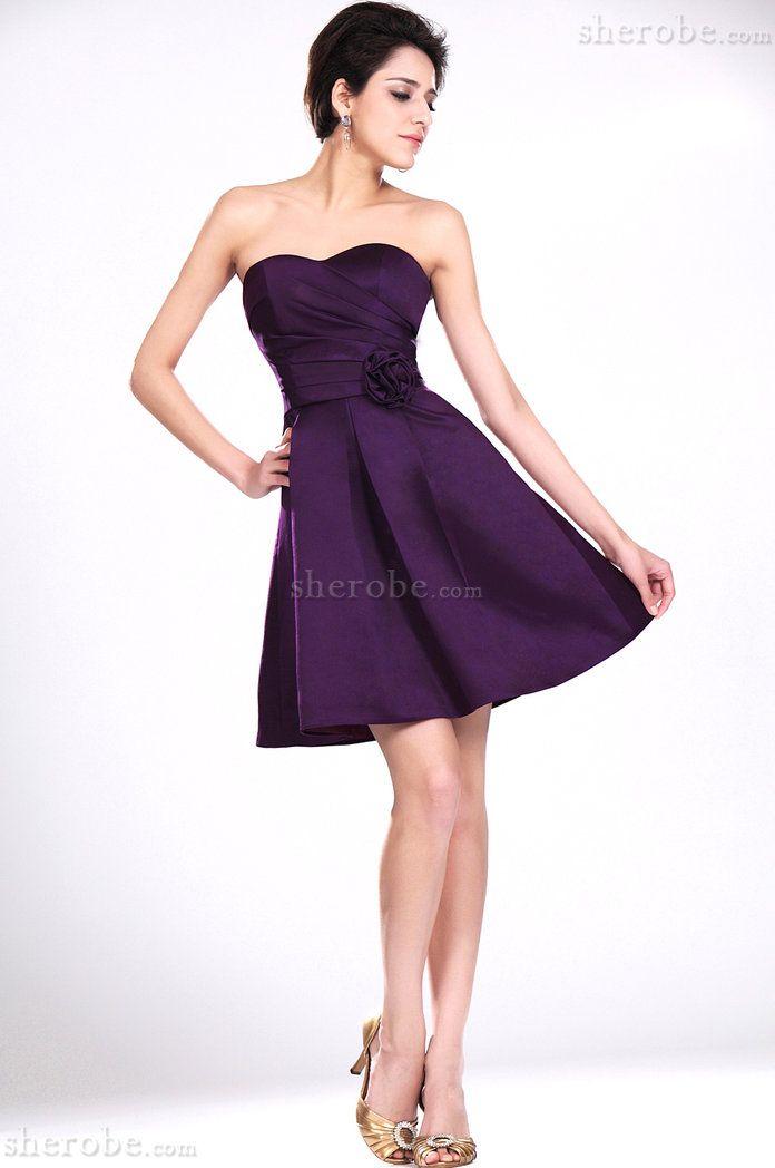 Robe violette soiree pas cher