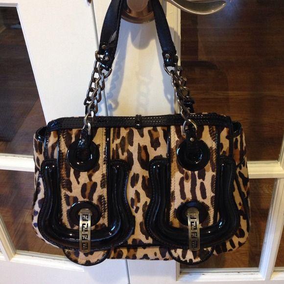Authentic Fendi Pony Calfskin Bag! Paper BagsFendi ... 50e68a7e48db7