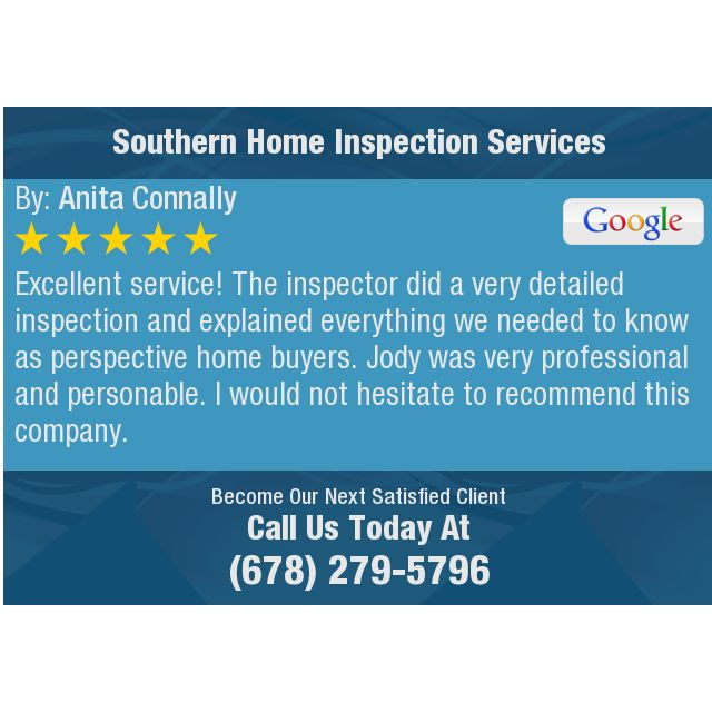Excellent Service The Inspector Did A Very Detailed Inspection