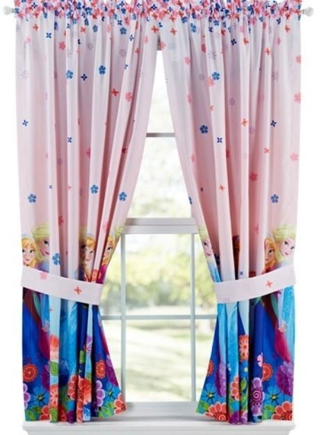 Curtains Ideas black friday curtains : Disney Frozen Elsa Anna CURTAINS NEW with tags drapes panels ...