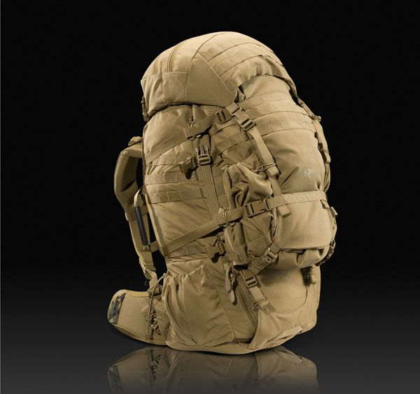 Arc'Teryx Anteus (ILBE replacement candidate)- Main pack, assault pack and lid.
