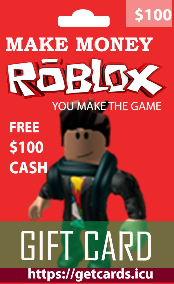Robux Giveaway Cards