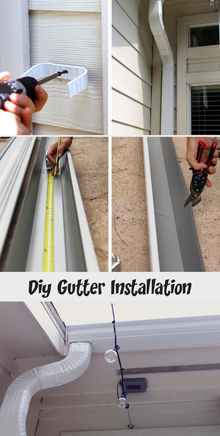 My Blog In 2020 How To Install Gutters Diy Gutters Gutters