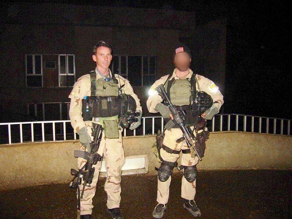 US Army Delta Force Major Thomas Greer(Dalton Fury) in ...  US Army Delta F...