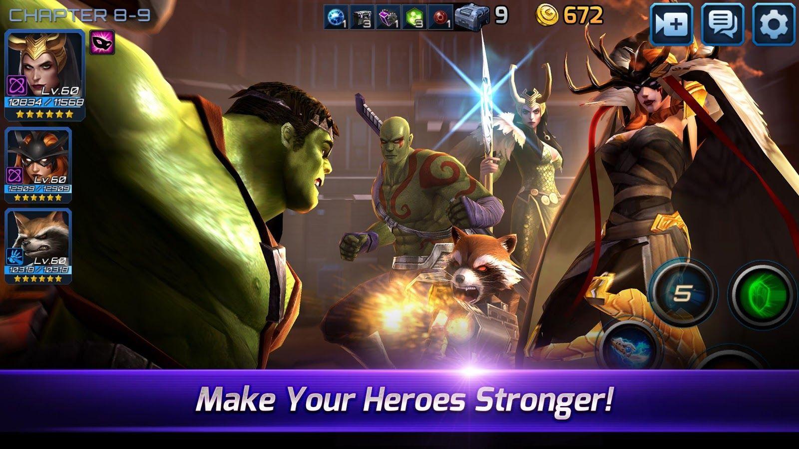 mod apk marvel future fight unlimited