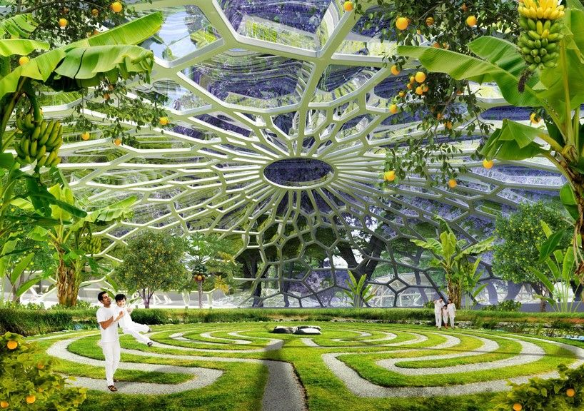vincent callebaut's hyperions is a sustainable ecosystem that resists climate change is part of architecture - hyperions is a sustainable agroecosystem concept project developed by vincent callebaut architectures