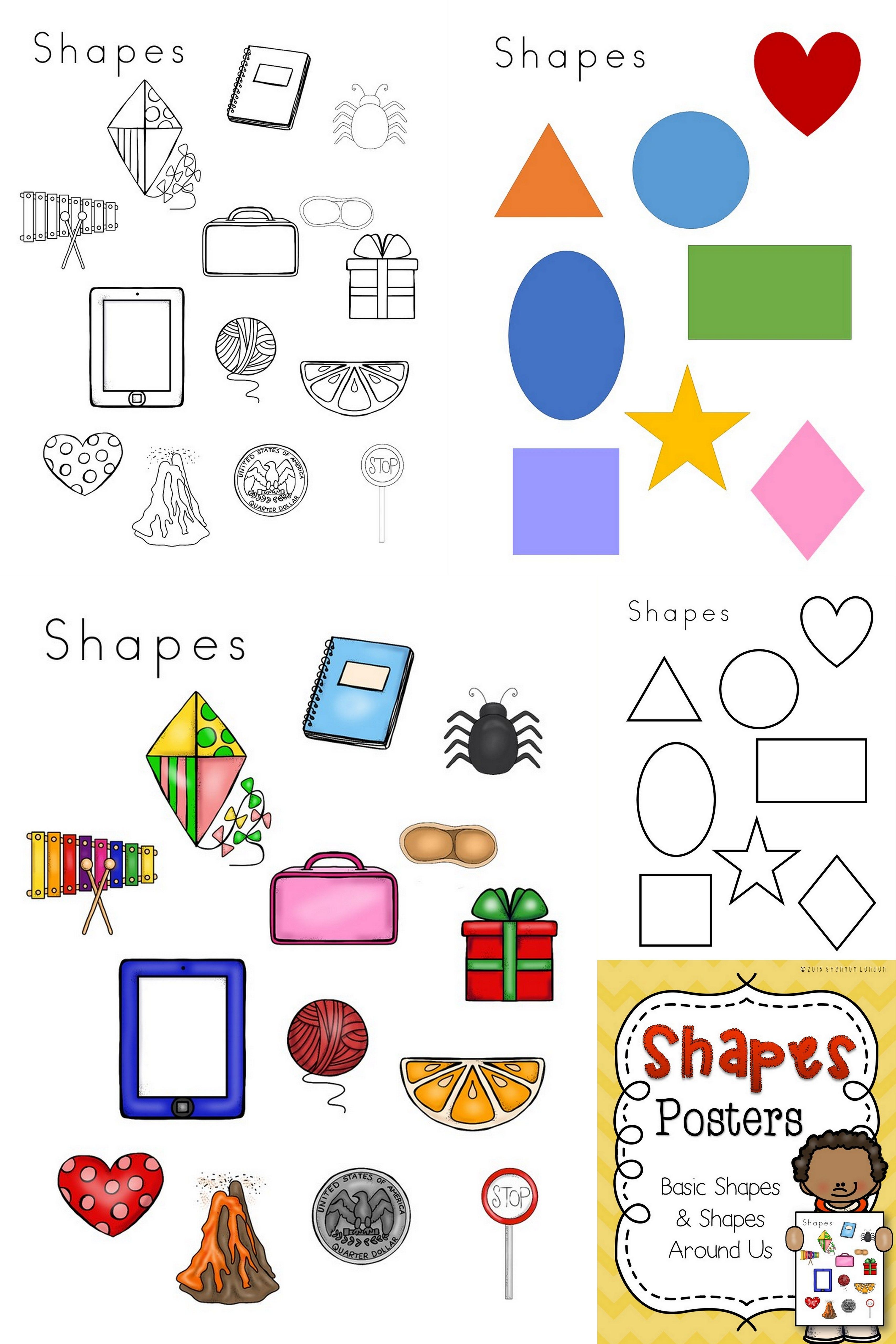 These 4 Shapes Worksheets Are A Wonderful Addition To Your