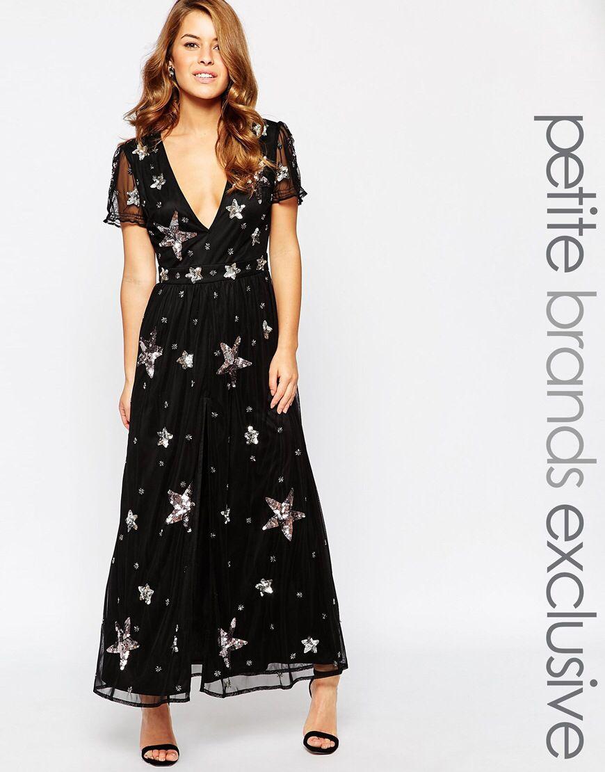 55cbd84b Maya Petite Star Embellished Maxi Dress   Dresses   Dresses, Petite ...