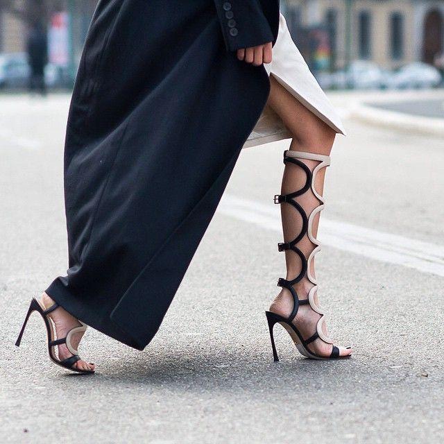 Street look fashion week de New York