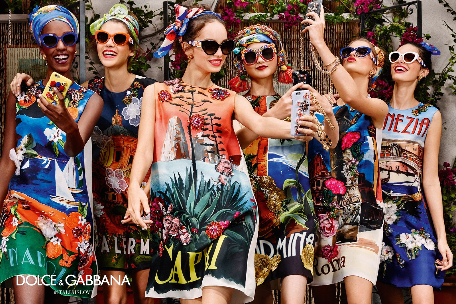 caf0b35bc0e Get inspired by Dolce   Gabbana Eyewear advertising campaign and choose the  perfect look with Summer 2016 women s sunglasses.