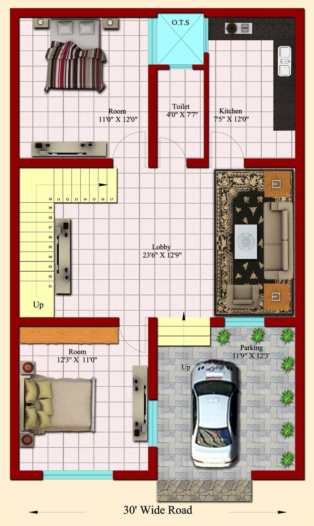 30 Genuine 25x40 House Plan Ideas Cottage Beauteous 20x40 House Plans House Plans My House Plans