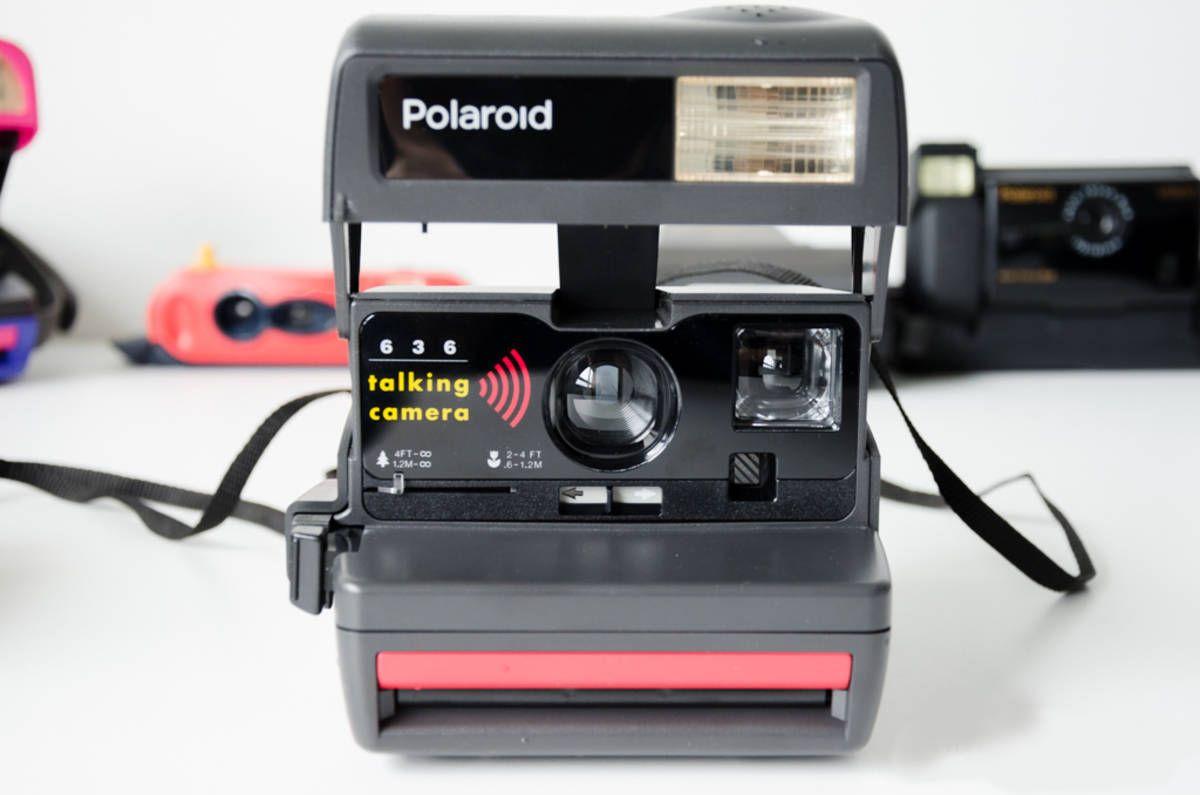 Talking Camera Polaroids Polaroid Polaroid 636 Instant Camera Camera
