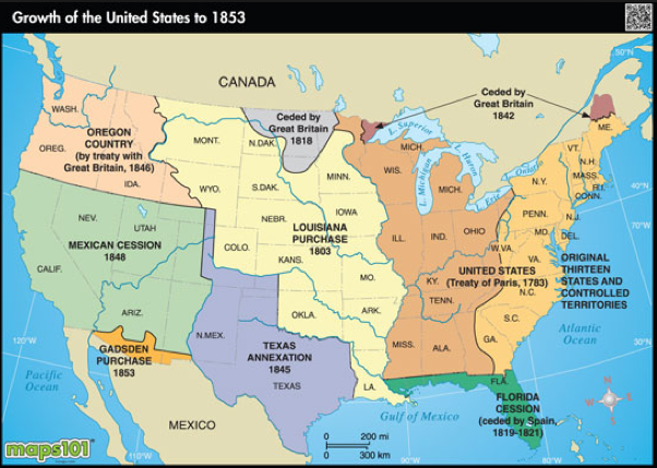 Us Map Of 1853 Map of U.S. in 1853 | Map, Wall maps, Great britain countries