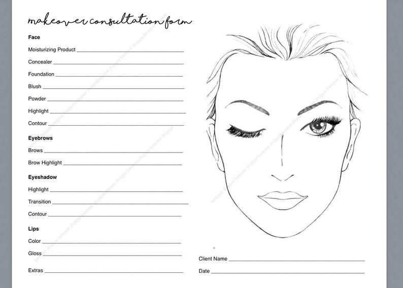 Pin By Hello Moto On D Buj In 2021 Makeup Consultation Makeup Face Charts Face Chart