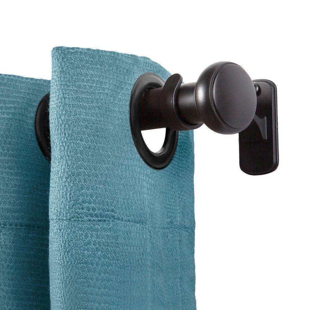 "Wildside 5/8"" Standard Decorative Window Curtain Rod"