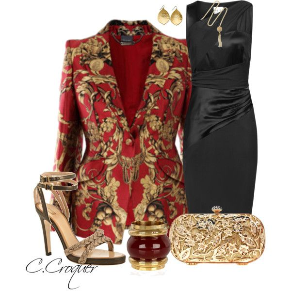 Printed Blazer Contest, created by ccroquer on Polyvore