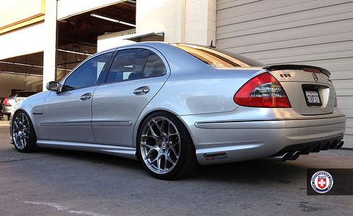 Mercede E55 W211 Hre P40sc Brush Tinted By Hre Wheels Via Flickr