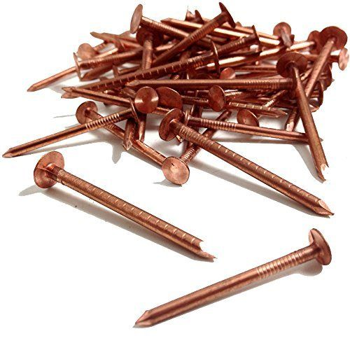 Airtoolsdepot 25 50mm X 3 35mm Copper Clout Roofing Nails Also Used For Tree Stump Removal Diy By Timco From Timc Roofing Nails Stump Removal Roofing Diy
