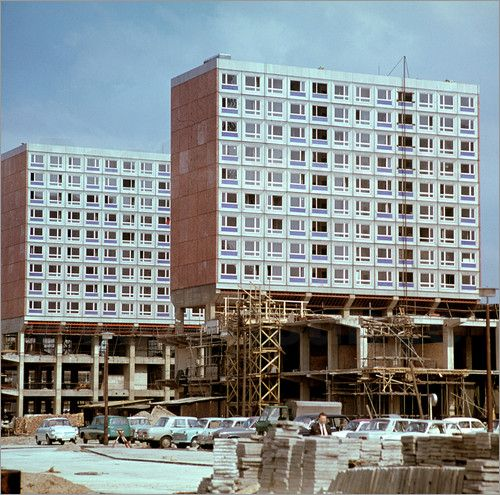 DDR - Rathauspassagen in Berlin 1969