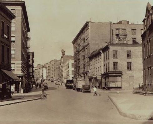 Old Broadway 126th st. Harlem New york pictures, Vintage