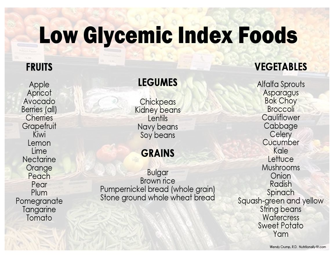 Low Gi Index Foods  Low Glycemic Index Foods Good For Your Every