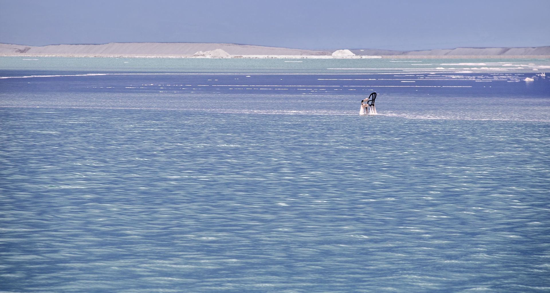 Dead Sea - salted chair