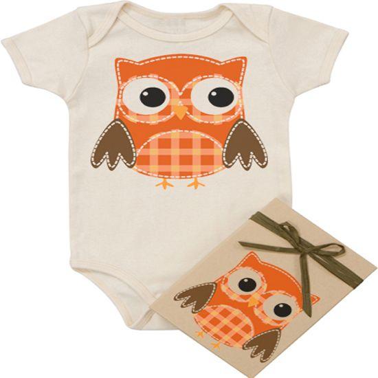 Morado Designs Organic Owl Onesie|WellnessBaby