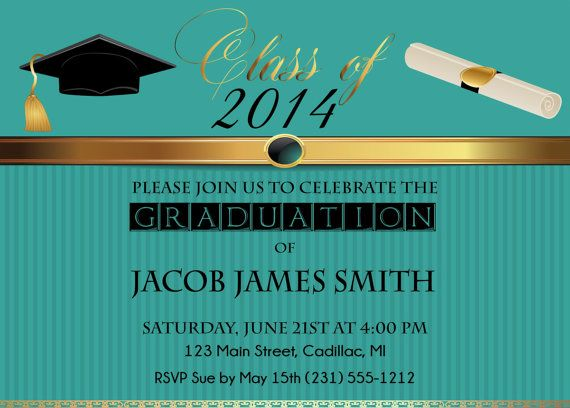 Graduate Invites Cool Formal Graduation Invitations Ideas To Make