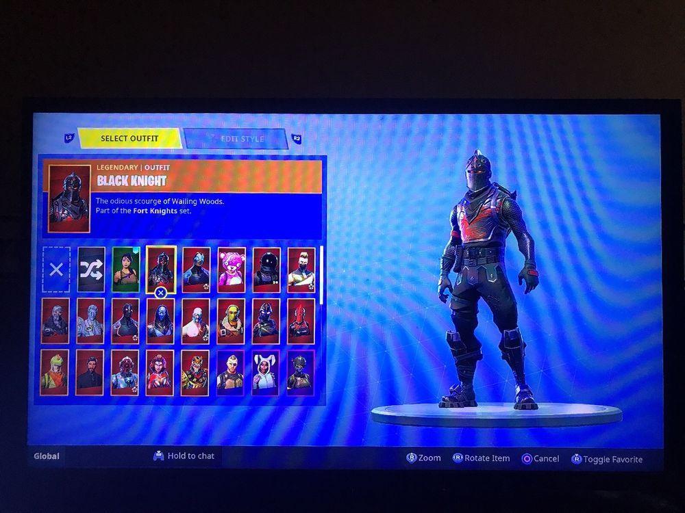 Fortnite Account Rare Skins Dark Knight 350 Wins 70 Skins