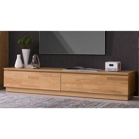 meuble tv en chene ou hetre massif 2