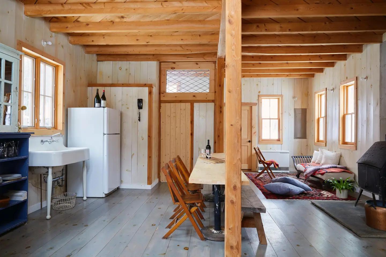 Brushland's Owl Nest - Cabins for Rent in Bovina Center ...