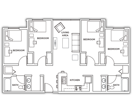 Park Point Syracuse University Student Housing Floor Plans – Syracuse University Housing Floor Plans
