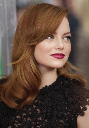 Btc Tip Of The Day Emma Stone Hair Color Auburn Hair Emma Stone Hair