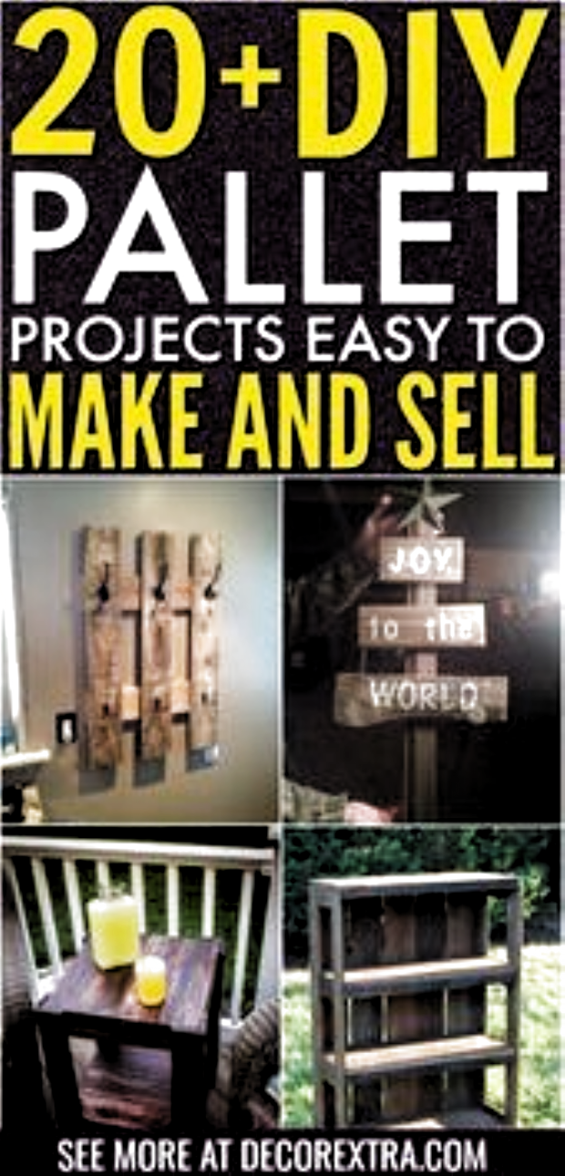 20 DIY Pallet Projects That Are Easy to Make and Sell   Pallet Project Easy