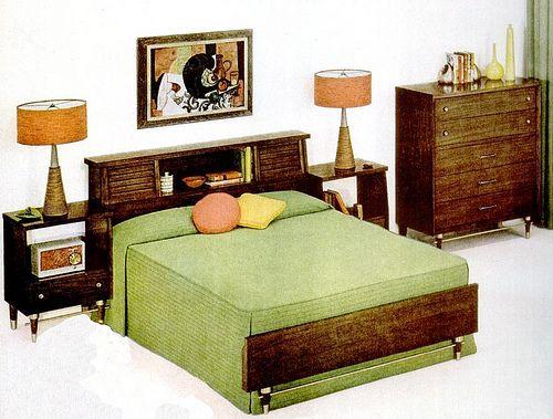 Bedroom 1956 Retro Bedrooms Retro Home Decor Mid Century