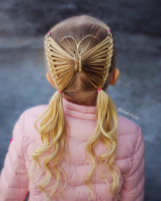 11 Crazy Hair Day Tutorials For Girls  {hot or not?} #crazyhairday