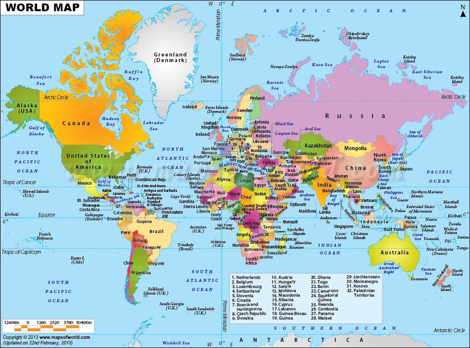 Our world the best gift by god to us re pin if you too agree world map clickable to the all countries map of the world from maps of world gumiabroncs Image collections