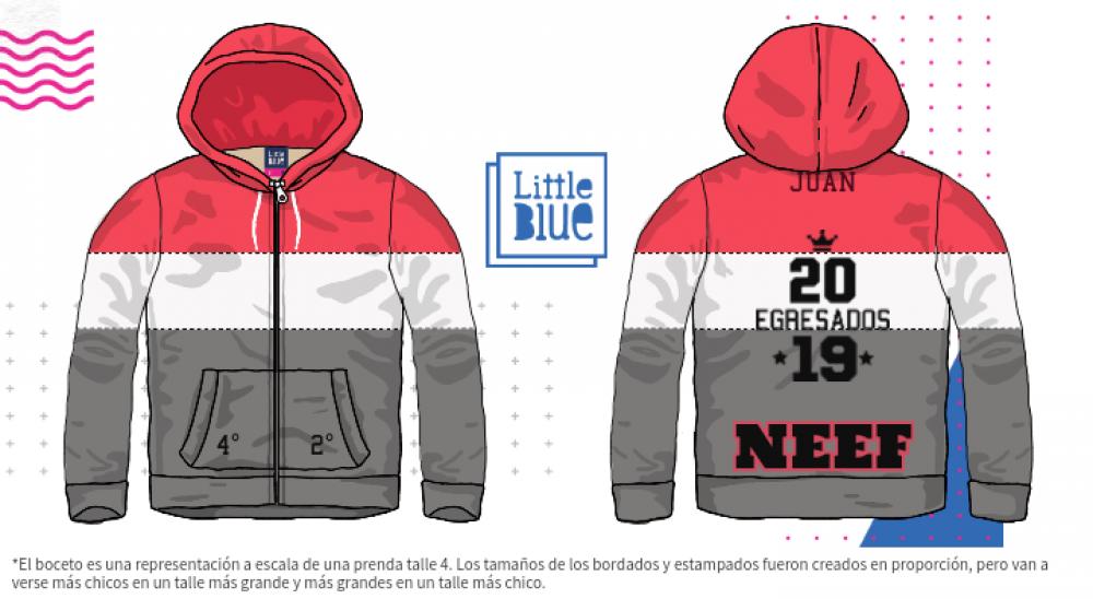 Guerrero Agotamiento sequía  Mi diseño Little Blue | Buzos de egresados, Camperas de egresados, Remera  de egresados