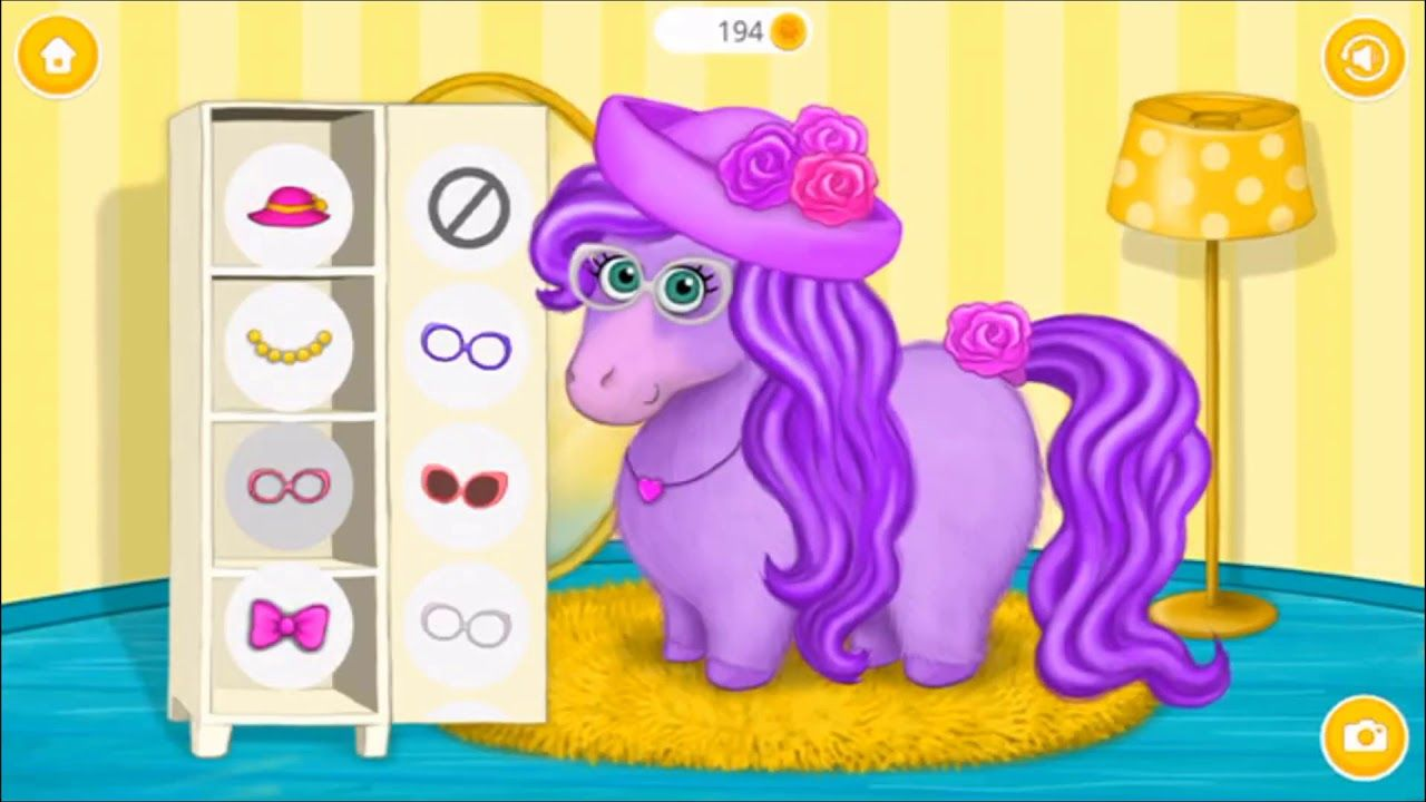 Pony Sisters in Hair Salon Horse Hairstyle Makeover
