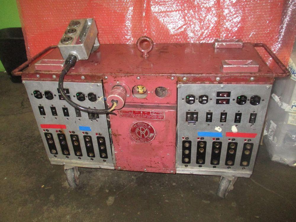 Vintage Mole Richardson Production Power Distribution Box Type