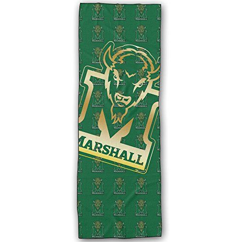 Marshall Thundering Herd Gold Style Yoga Mat Towel ** Read more details by clicking on the image. #YogaTowels