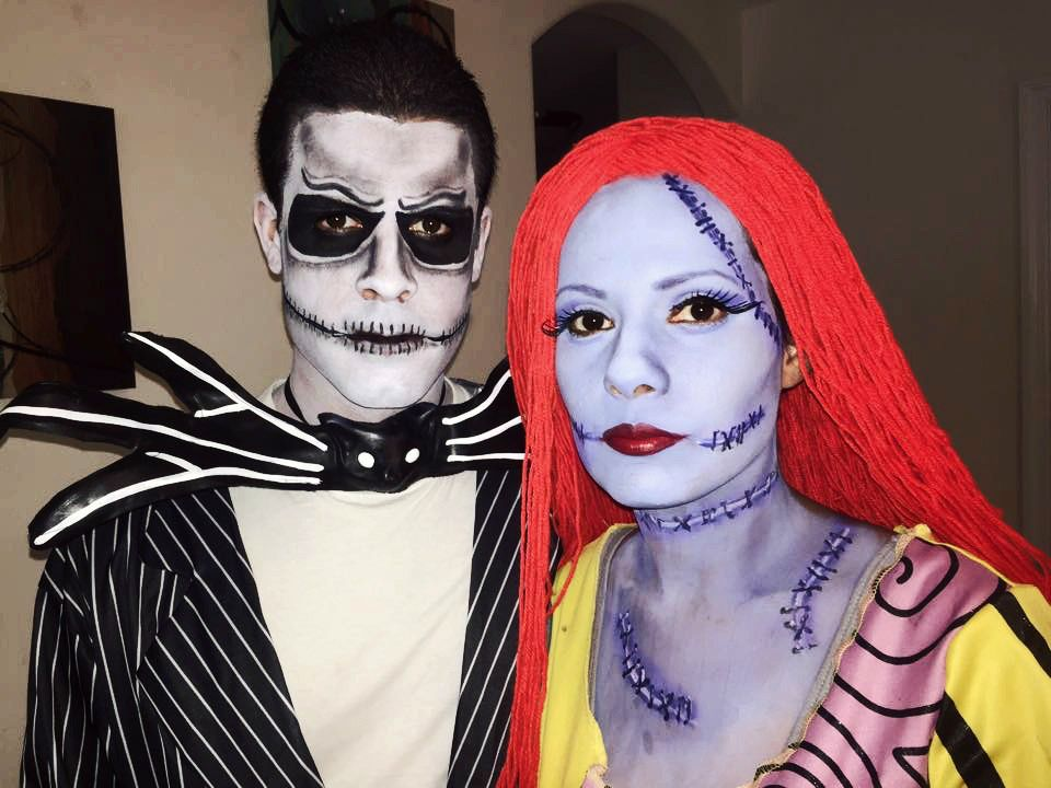 Jack & Sally | Face Paint | Makeup Artist | Halloween | Nightmare ...