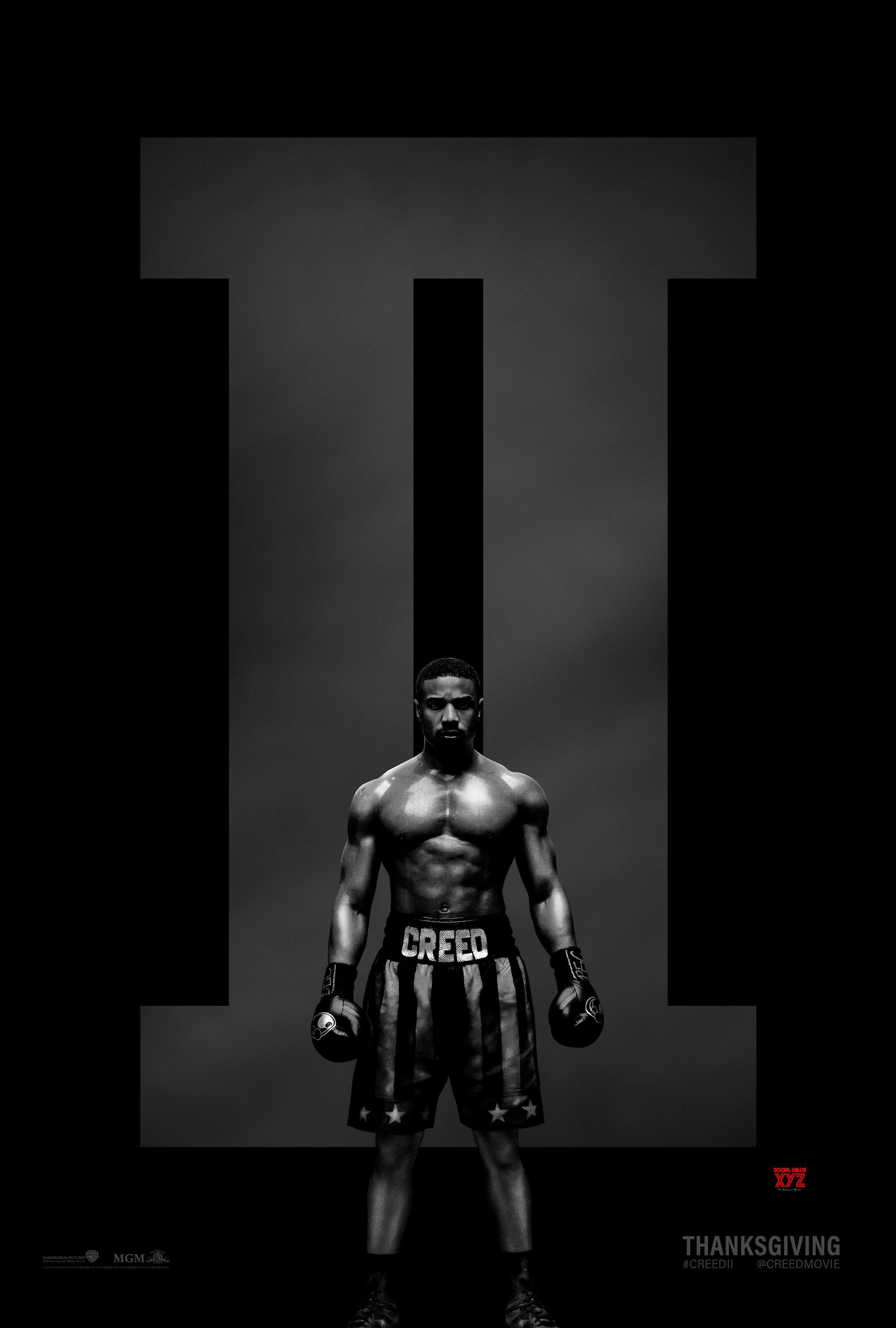 Creed Ii Movie Hd Poster Social News Xyz Gallery Pinterest