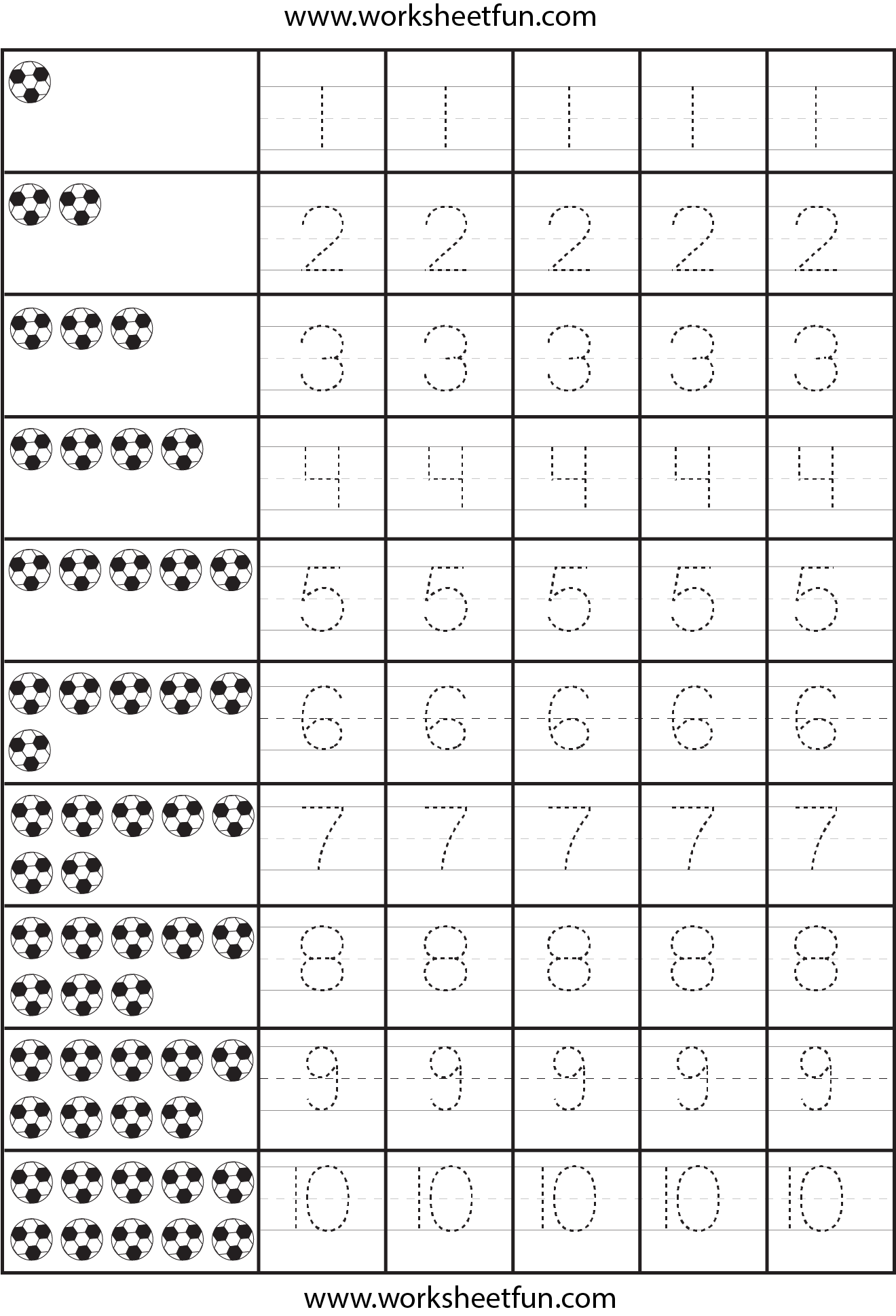 Worksheets Printable Number Writing Worksheets 1000 images about preschool on pinterest tracing worksheets printable letters and numbers 1 10
