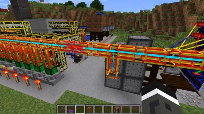 Mods Das Beste Für Ihre MinecraftWelt Pinterest - Minecraft rollercoaster spielen