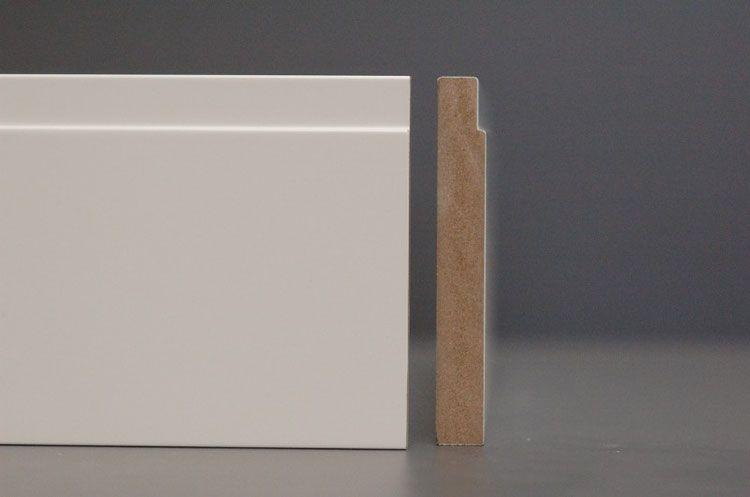 Sockelleiste Bauhaus Aus Mdf 14cm Sockelleisten Fussleisten Fussleisten Weiss