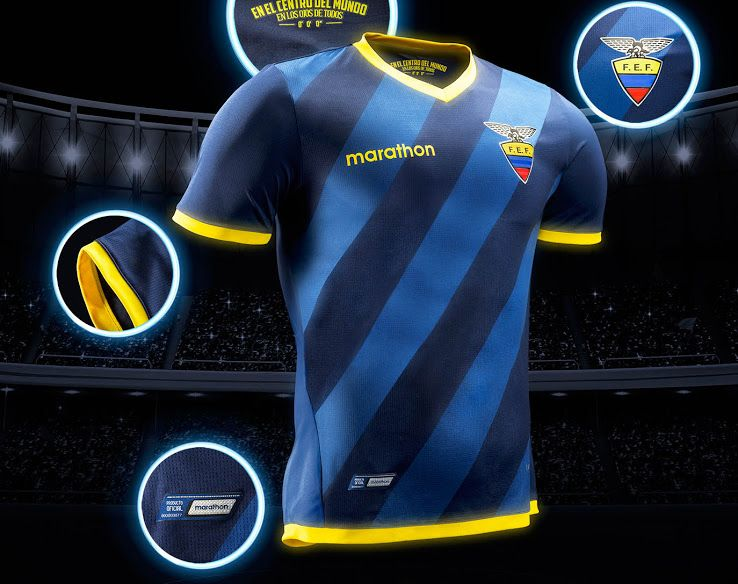 f6c67e177 Ecuador 2018 World Cup Qualifiers Kits Released - Footy Headlines ...