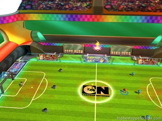 Cartoon Network Superstar Soccer Game App for Kids | Top best apps